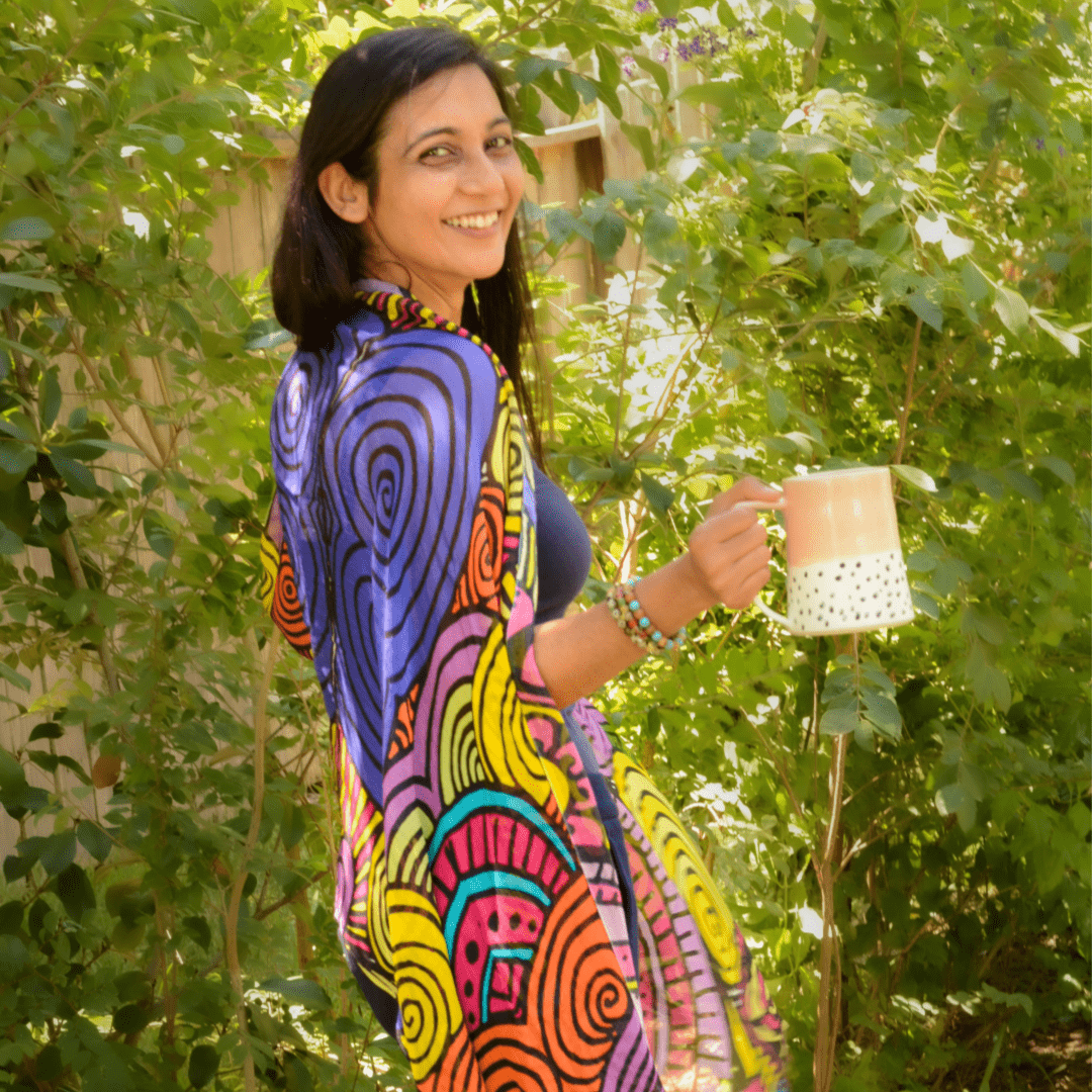eco-friendly holiday gift guide, wearable art, houston, texas, artist, loveleen saxena, bohemian art, divine treasures, sustainable lifestyle, high vibe, conscious shopper, child-like wonder, divine treasures, playful, gifts for her, meaningful gifts