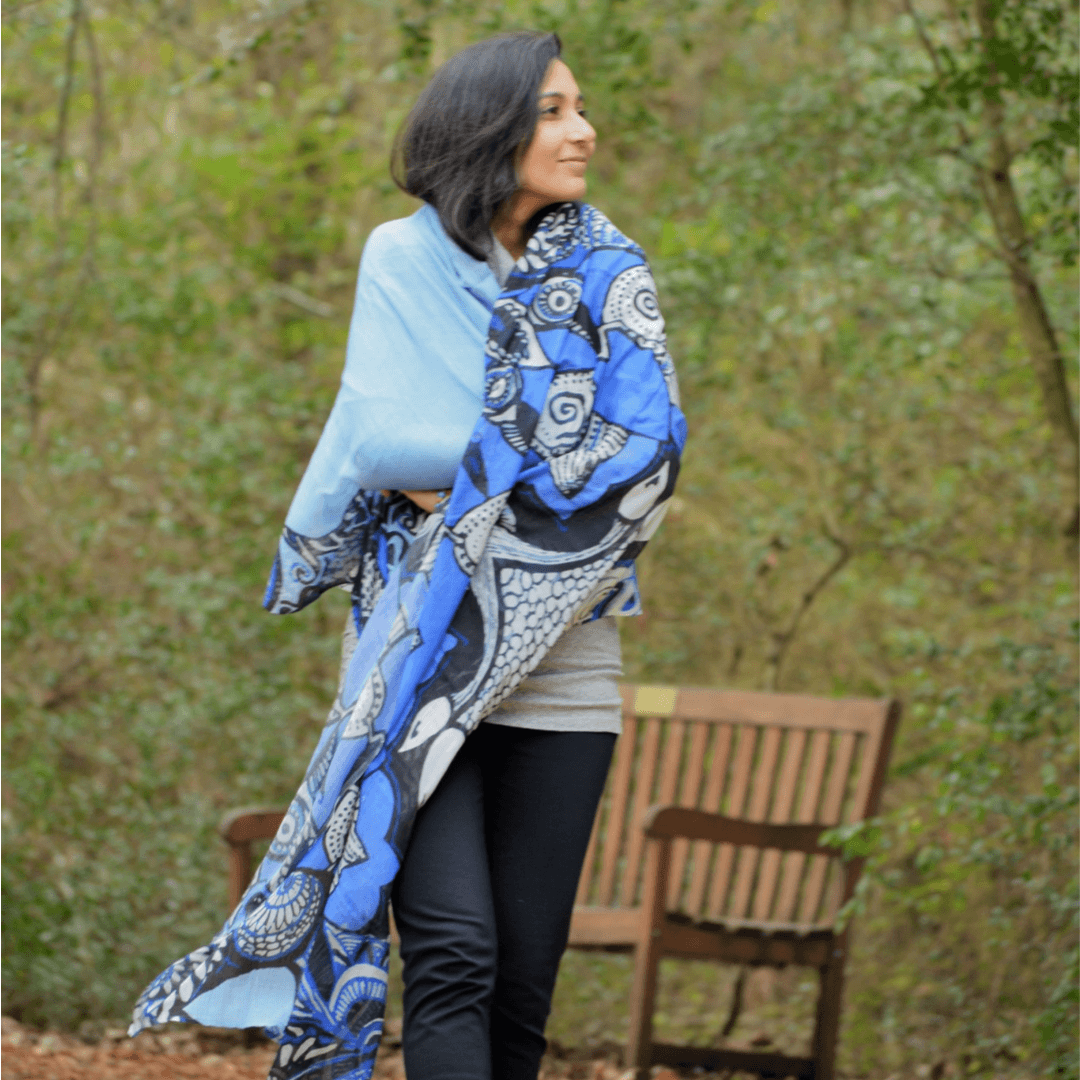 bohemian art, wearable art, houston, texas, artist, loveleen saxena, divine designs, sustainable lifestyle, lenzing modal