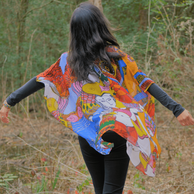 eco-friendly holiday gift guide, wearable art, houston, texas, artist, loveleen saxena, bohemian art, divine designs, sustainable lifestyle, high vibe, conscious shopping, child-like wonder