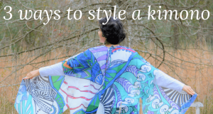loveleen saxena 3 ways to style a Kimono
