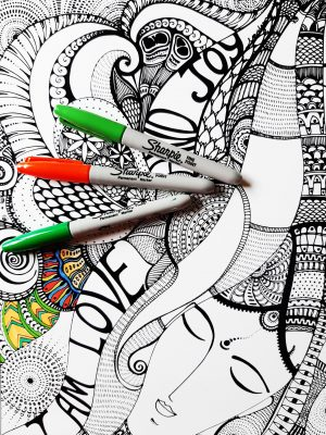 i am infinite awareness coloring page