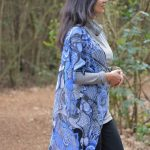 my soul's filled with peace: blue kimono