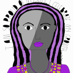 proud-of-myself-art-print-purple-white