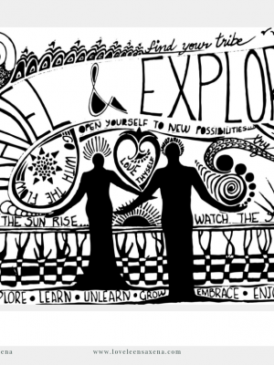 experience travel and explore art work