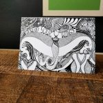 spread your wings art card