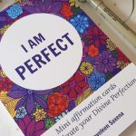 i am perfect affirmation cards and pen