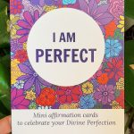 i am perfect affirmation cards