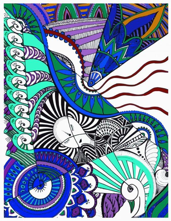 color-my-life-art-print