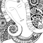 I am beautiful coloring page
