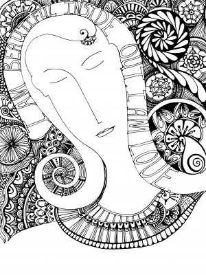 i-am-beautiful-coloring-page