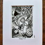 journey of life - art print frame
