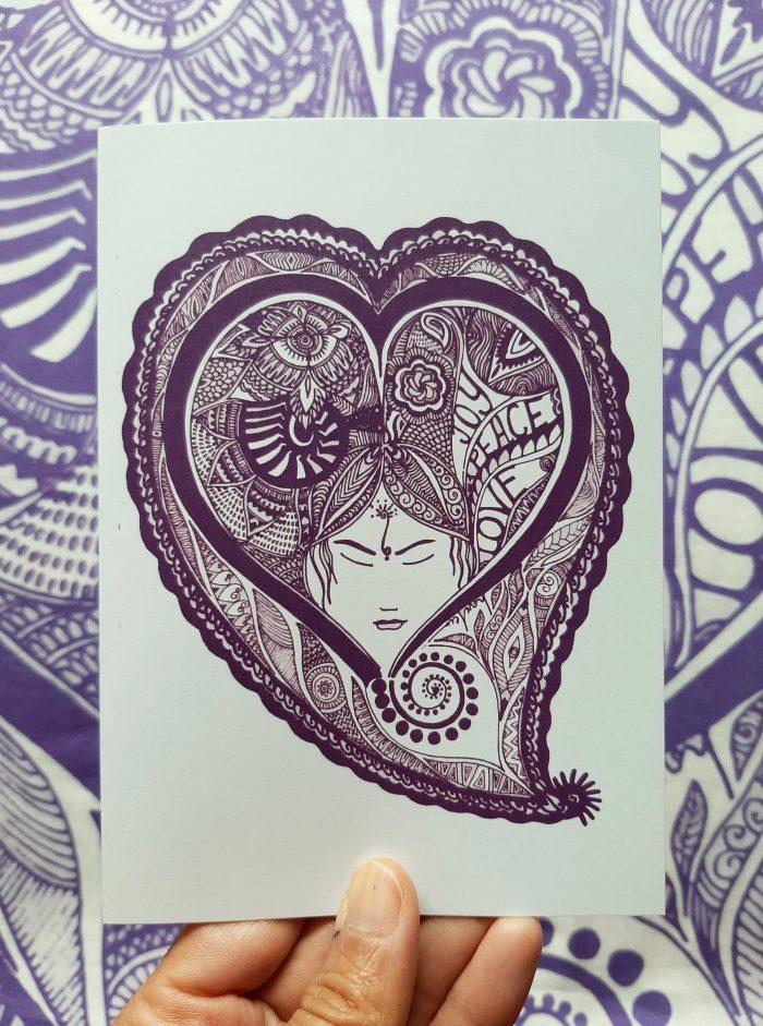 joy and peace card