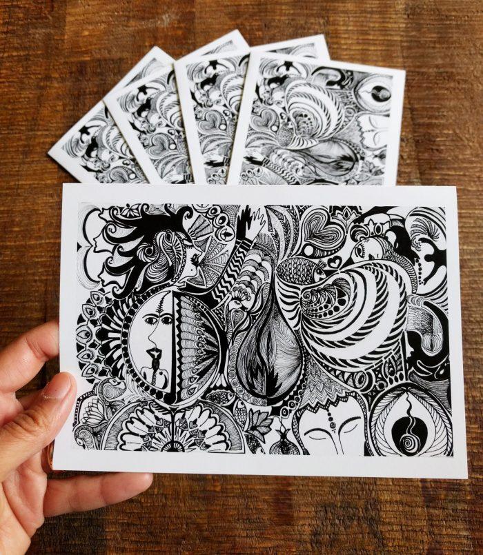 i am divine truth art cards