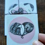 gratitude art card: love