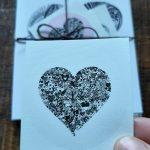 gratitude art card: i am love