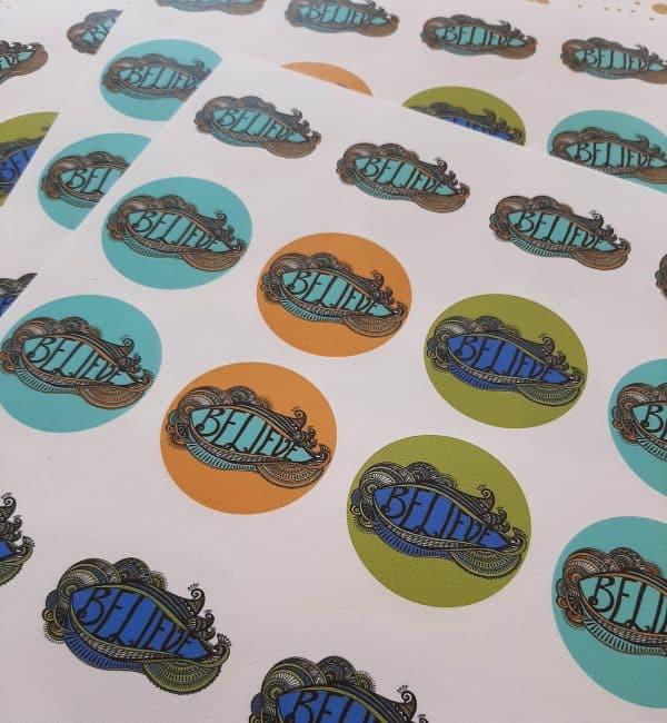 stickers-believe