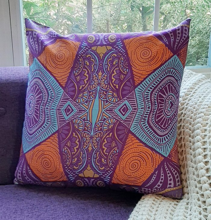 cosmic by nature accent pillow