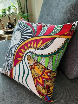 i inspire courage accent pillow