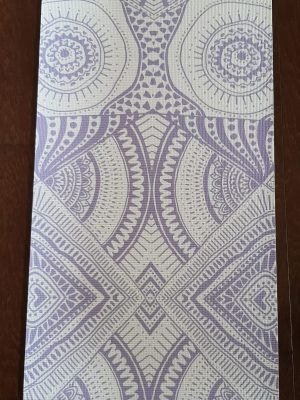 purple rooted in nature yoga mat