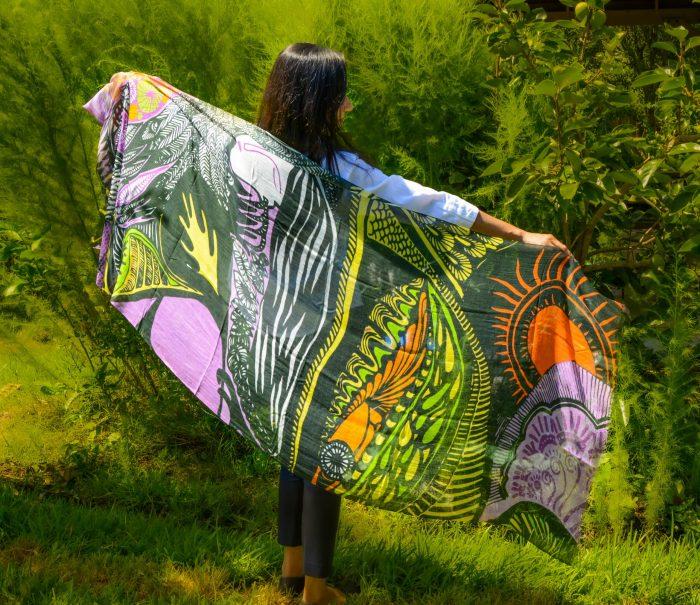i embody the divine feminine scarf