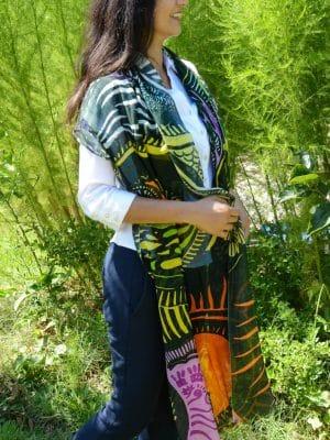 modal scarf: i embody the divine feminine
