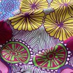 simple things seen with joy - flower table towel