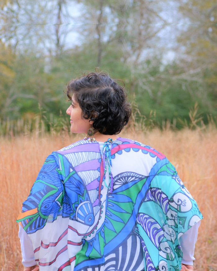 kimono with i speak my truth design