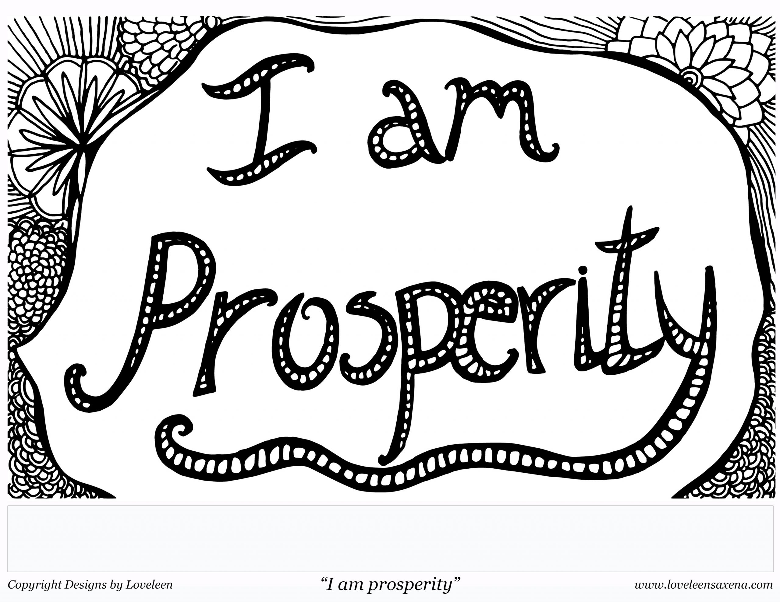 coloring-page-i-am-prosperity