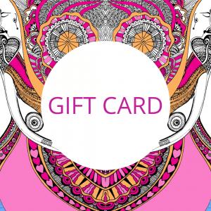 GIFT CARD - pink logo