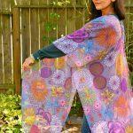 I permeate life with joy kimono