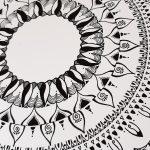 expand your life force mandala art print