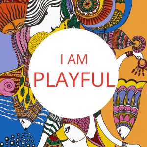 I AM PLAYFUL - Orange Logo