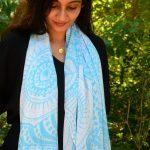 i am infinite - blue scarf