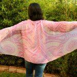 pink modal scarf: i am infinite