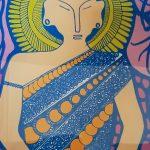 I invoke peace - buddha art design