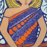 I invoke peace - golden buddha tray