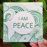 I am peace gift card