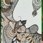 Listen to nature mini art print