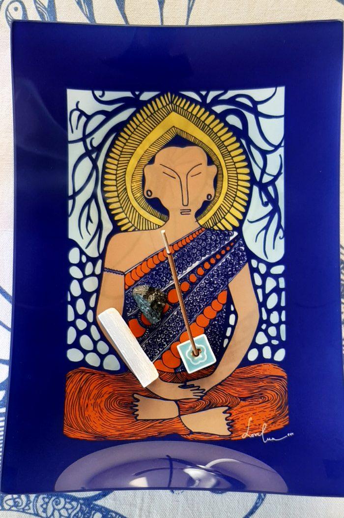 I invoke peace buddha tray