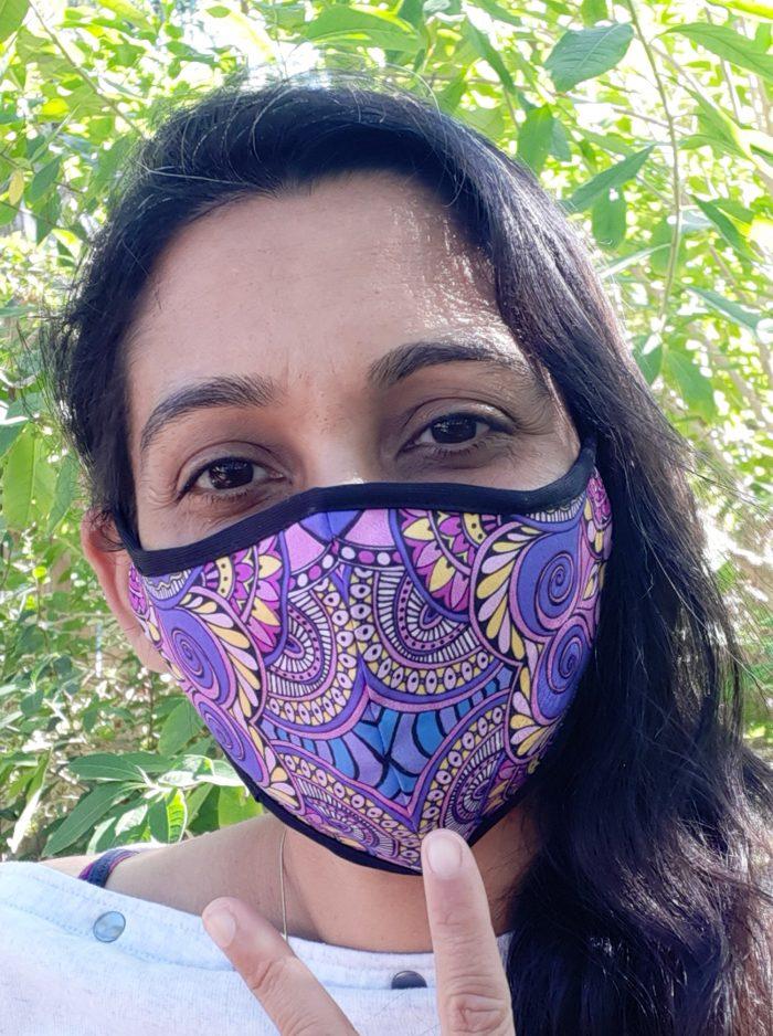 modal art design - art mask