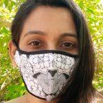 I am a brave soul - art mask