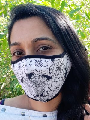 I am brave soul - white mask