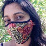 I speak joy - art mask