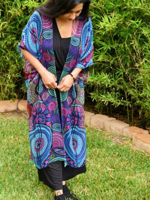 I choose to receive my kimono - I am infinite scarf