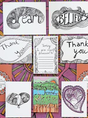 Gratitude bundle stationary holiday gift cards