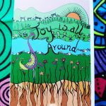 Joy is all around holiday gift card