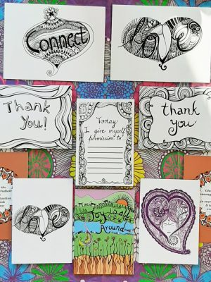 Gratitude bundle creative design gift cards