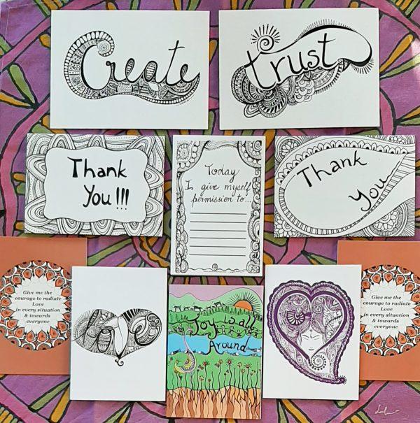 Gratitude gift cards bundle