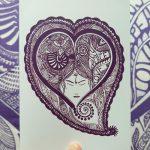 I am grateful heart card