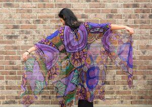Life intrigues me kimono